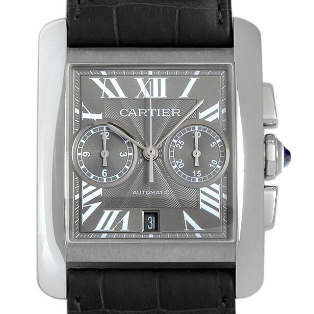 【48回払いまで無金利】カルティエ タンクMC クロノグラフ W5330008 メンズ(006XCAAU0061)【中古】【腕時計】【送料無料】