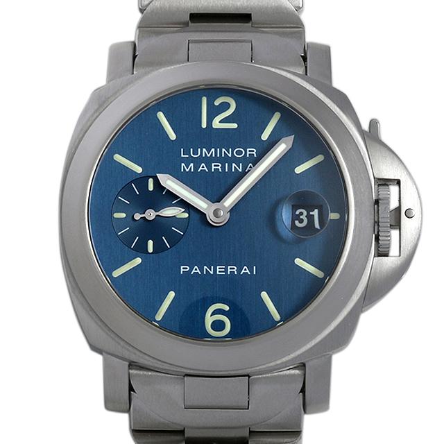 【48回払いまで無金利】パネライ ルミノールマリーナ D番 PAM00069 メンズ(006XOPAU0044)【中古】【腕時計】【送料無料】