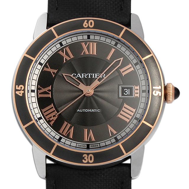 【48回払いまで無金利】カルティエ ロンド クロワジエール ドゥ カルティエ W2RN0005 メンズ(0066CAAN0671)【新品】【腕時計】【送料無料】