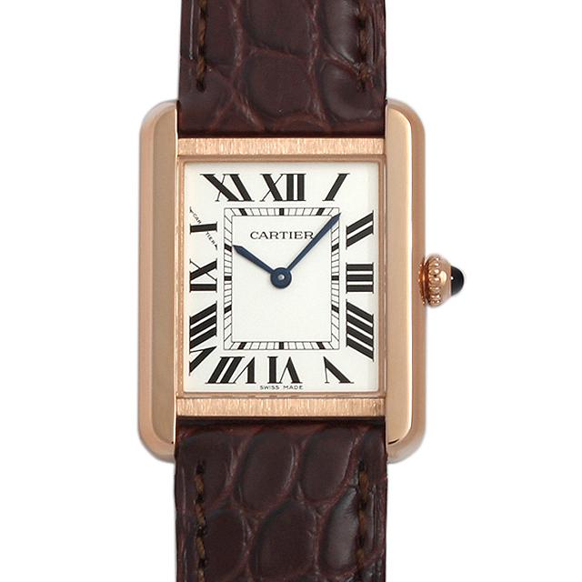 【48回払いまで無金利】カルティエ タンクソロ SM W5200024 レディース(0066CAAN0786)【新品】【腕時計】【送料無料】