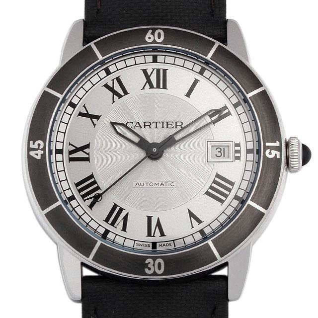 【48回払いまで無金利】カルティエ ロンド クロワジエール ドゥ カルティエ WSRN0002 メンズ(0066CAAN0772)【新品】【腕時計】【送料無料】