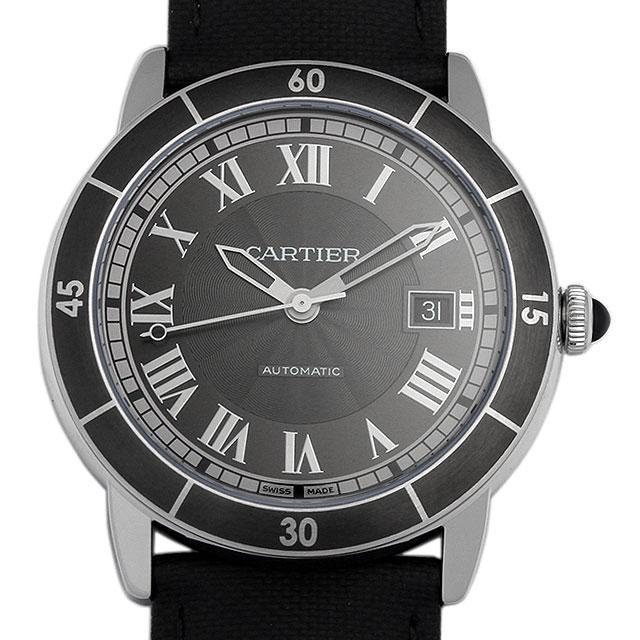 カルティエ ロンド クロワジエール ドゥ カルティエ WSRN0003 メンズ(0066CAAN0617)【新品】【腕時計】【送料無料】