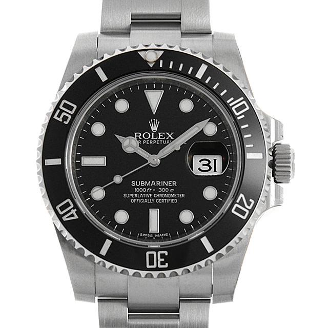 ロレックス サブマリーナ デイト 116610LN ランダムシリアル メンズ(0J1QROAS0002)【中古】【未使用】【腕時計】【送料無料】