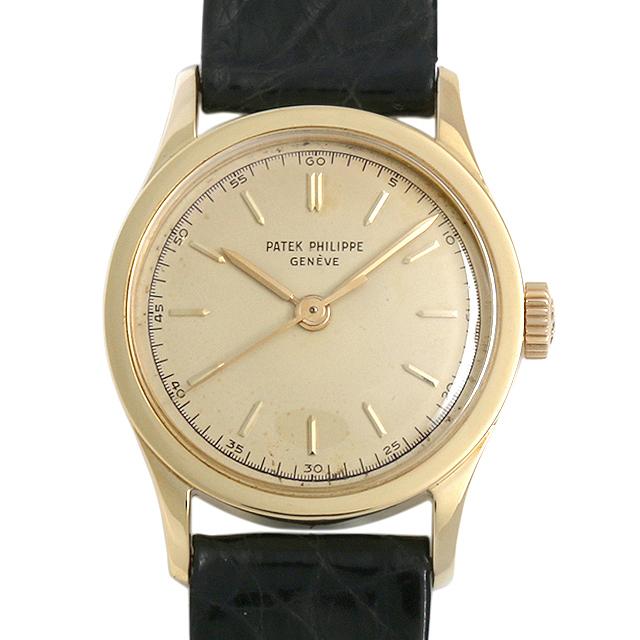 【48回払いまで無金利】パテックフィリップ カラトラバ 2555J メンズ(006XPPAA0008)【アンティーク】【腕時計】【送料無料】