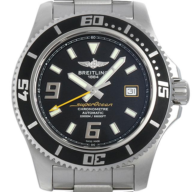 【48回払いまで無金利】ブライトリング スーパーオーシャン44 A188B78PSS(A17391) メンズ(007UBRAU0037)【中古】【腕時計】【送料無料】