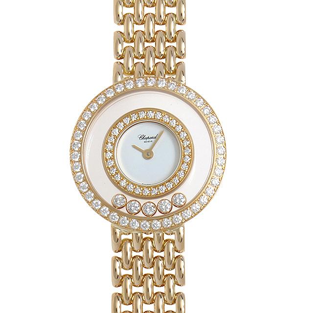 【48回払いまで無金利】SALE ショパール ハッピーダイヤモンド 20/5691 レディース(07F6CPAU0001)【中古】【腕時計】【送料無料】
