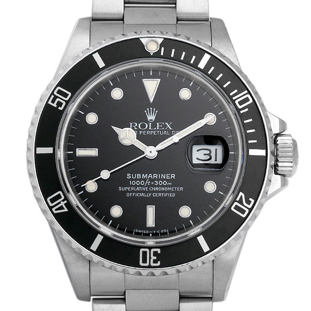 【48回払いまで無金利】ロレックス サブマリーナ トリプルゼロ R番 168000 メンズ(07T2ROAU0001)【中古】【腕時計】【送料無料】