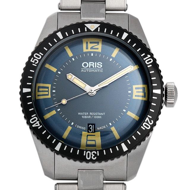 【48回払いまで無金利】オリス ダイバース65 733 7707 4065M メンズ(006TOSAN0033)【新品】【腕時計】【送料無料】