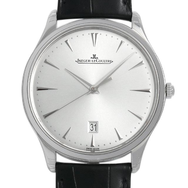 ジャガールクルト マスターウルトラスリム デイト Q1288420(174.8.37.S) メンズ(006MJLAR0001)【新品】【腕時計】【送料無料】