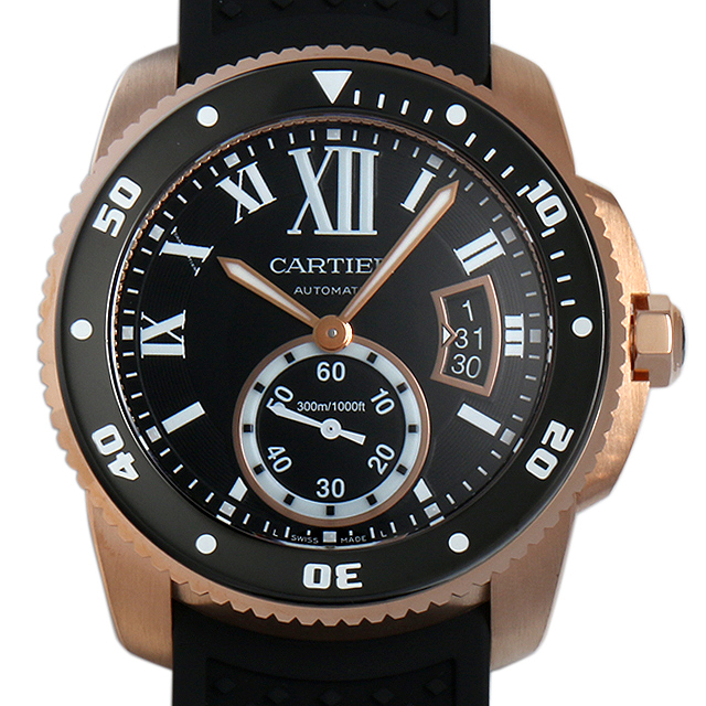 カルティエ カリブル ドゥ カルティエ ダイバー W7100052 メンズ(0066CAAN0705)【新品】【腕時計】【送料無料】