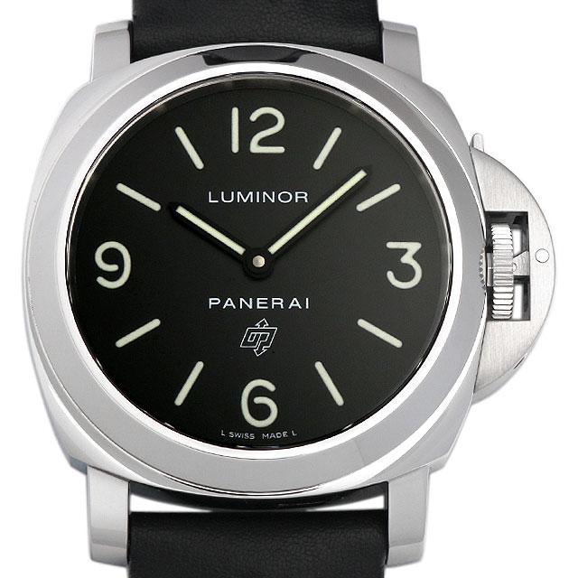 【48回払いまで無金利】パネライ ルミノールベース ロゴ R番 PAM00000 メンズ(003IOPAS0025)【中古】【未使用】【腕時計】【送料無料】