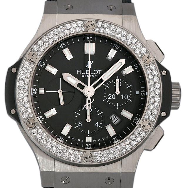 【48回払いまで無金利】SALE ウブロ ビッグバン アールグレイ ダイヤモンド 301.ST.5020.GR.1104 メンズ(001HHBAU0017)【中古】【腕時計】【送料無料】