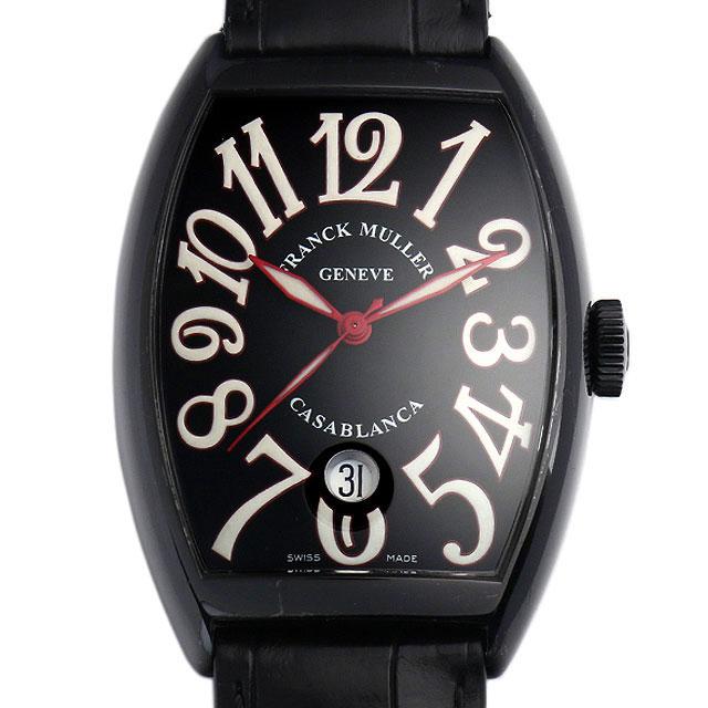 【48回払いまで無金利】SALE フランクミュラー カサブランカ ノアール 6850C DT NR AC メンズ(006XFRAU0068)【中古】【腕時計】【送料無料】