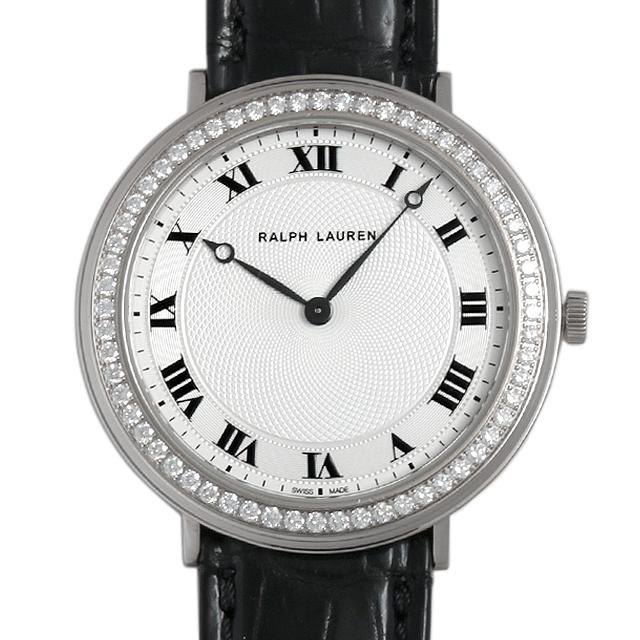 ラルフローレン スリムクラシック ベゼルダイヤ RLR0122703 メンズ(007URALU0002)【中古】【腕時計】【送料無料】