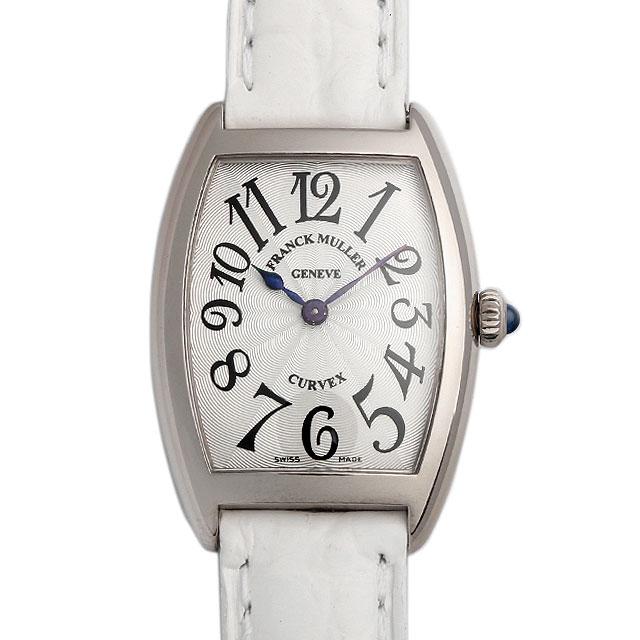 【48回払いまで無金利】フランクミュラー トノーカーベックス 1752QZ OG レディース(008KFRAU0021)【中古】【腕時計】【送料無料】