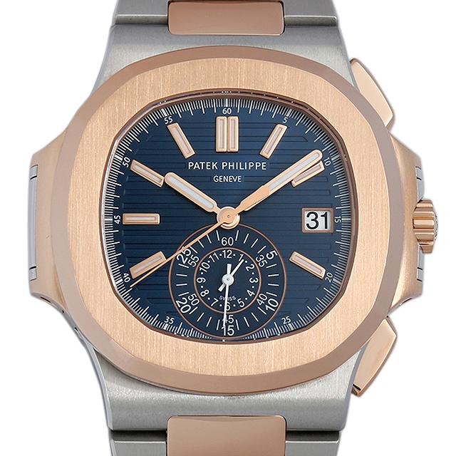 【48回払いまで無金利】パテックフィリップ ノーチラス クロノグラフ 5980/1AR-001 メンズ(03H6PPAU0002)【中古】【腕時計】【送料無料】