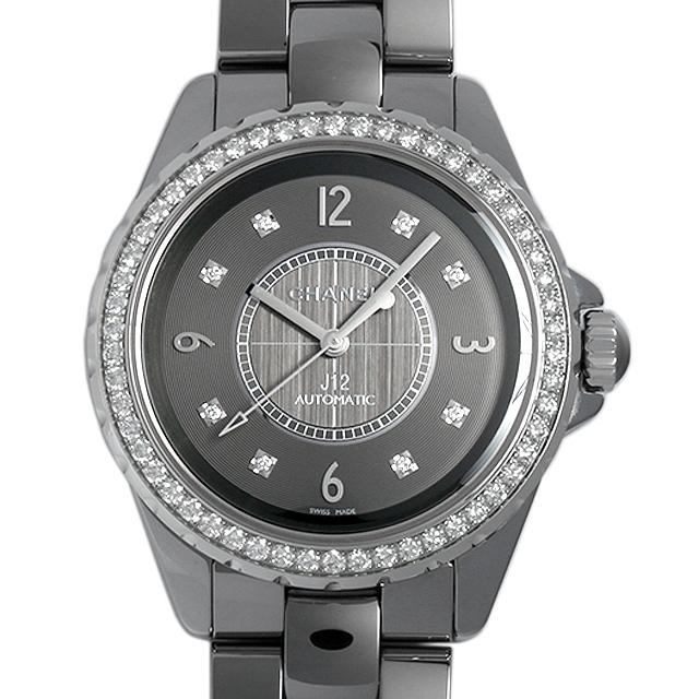 【48回払いまで無金利】SALE シャネル J12 クロマティック ベゼルダイヤ H2566 メンズ(078FCHAU0001)【中古】【腕時計】【送料無料】