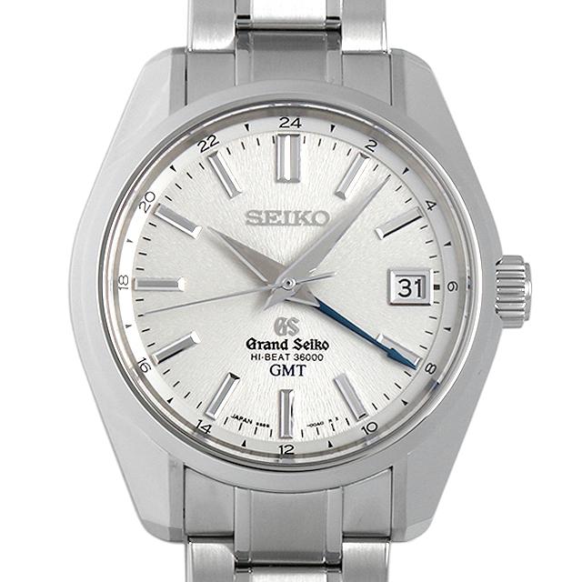 グランドセイコー メカニカル ハイビート GMT マスターショップ限定 SBGJ001 メンズ(07V3SEAU0001)【中古】【腕時計】【送料無料】