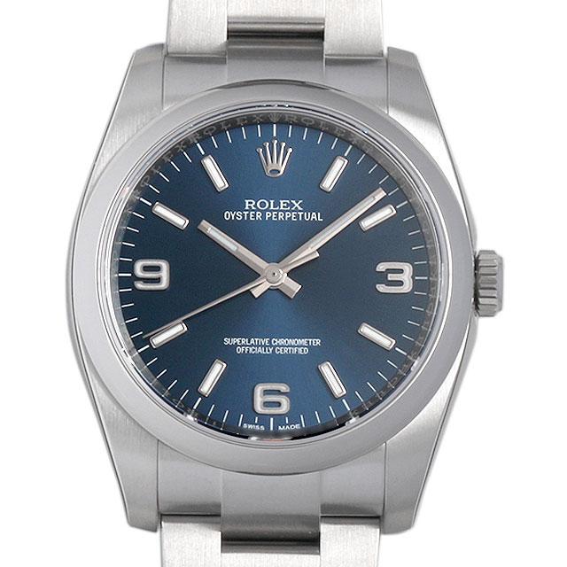 【48回払いまで無金利】ロレックス オイスターパーペチュアル 116000 ブルー/369ホワイトバー メンズ(0066ROAN0104)【新品】【腕時計】【送料無料】