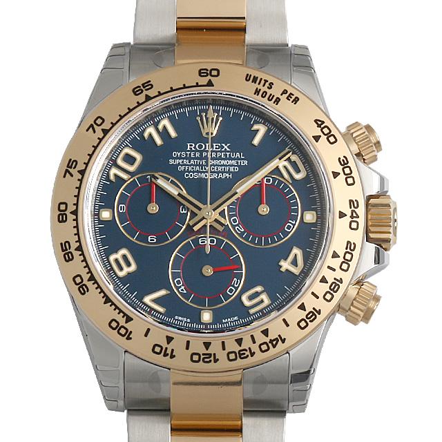 ロレックス デイトナ 116503 ブルー/アラビア メンズ(007NROAN0026)【新品】【腕時計】【送料無料】