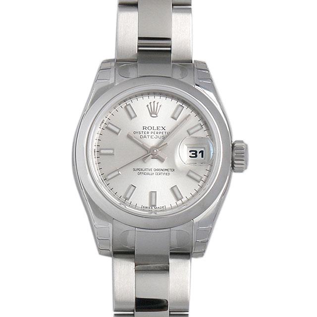 ロレックス デイトジャスト 179160 シルバー/バー レディース(07NDROAN0044)【新品】【腕時計】【送料無料】