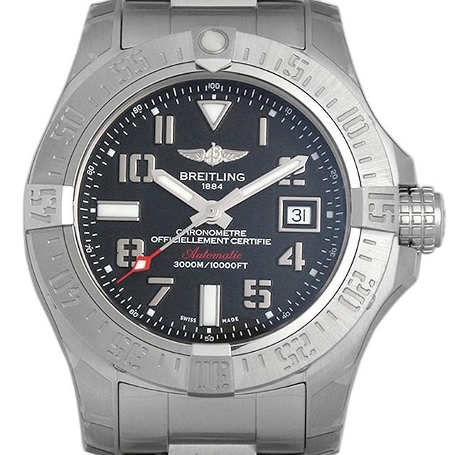 【48回払いまで無金利】ブライトリング アベンジャーII シーウルフ A077B31PSS(A17331) メンズ(0671BRAN0014)【新品】【腕時計】【送料無料】