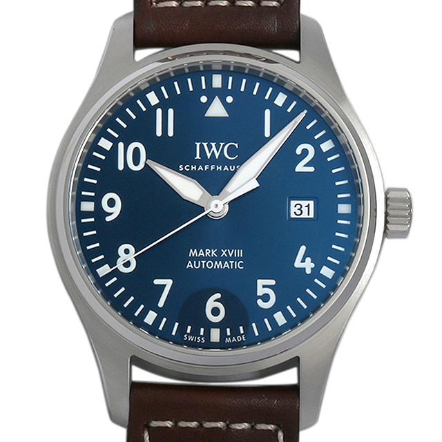 【48回払いまで無金利】IWC パイロットウォッチ マーク18 プティ・プランス IW327004 メンズ(0064IWAN0045)【新品】【腕時計】【送料無料】