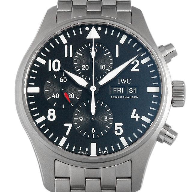 【48回払いまで無金利】IWC パイロットウォッチ クロノグラフ オートマティック IW377710 メンズ(002NIWAN0052)【新品】【腕時計】【送料無料】