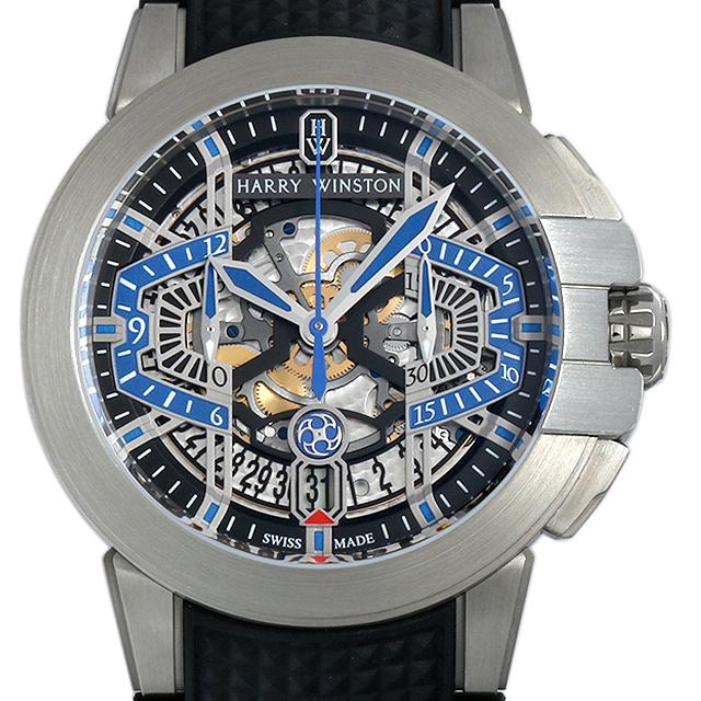 【48回払いまで無金利】ハリーウィンストン オーシャン プロジェクトZ9 限定300本 OCEACH44ZZ004 メンズ(003IHWAS0001)【中古】【未使用】【腕時計】【送料無料】