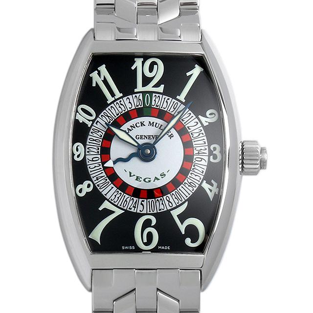 【48回払いまで無金利】SALE フランクミュラー ヴェガス 5850VEGAS OAC メンズ(001HFRAU0033)【中古】【腕時計】【送料無料】