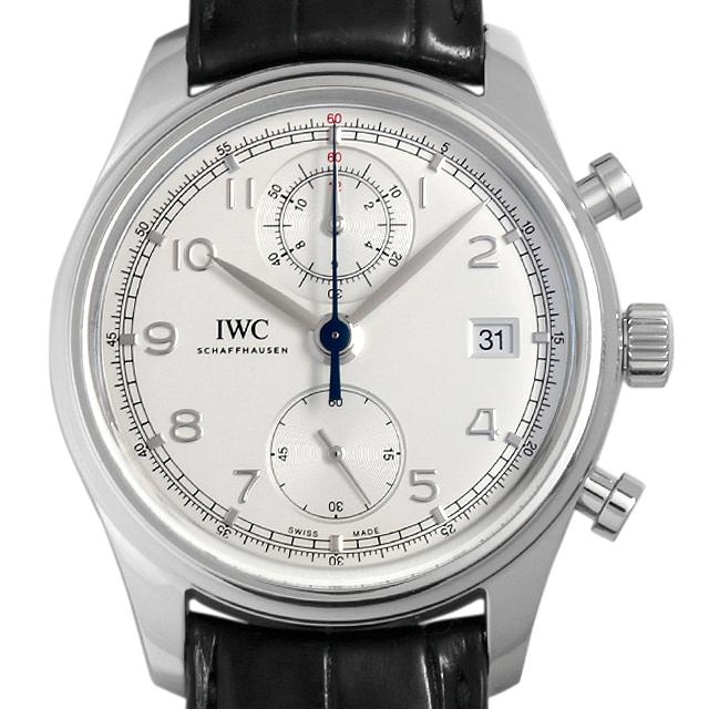 SALE IWC ポルトギーゼ クロノグラフ クラシック IW390403 メンズ(006XIWAU0061)【中古】【腕時計】【送料無料】