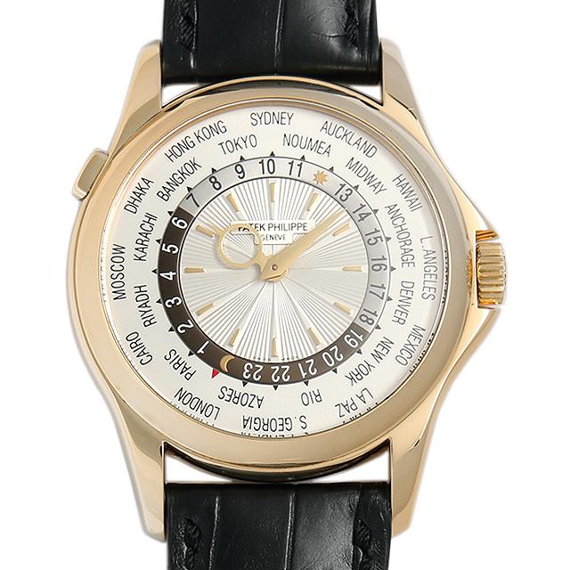 SALE パテックフィリップ ワールドタイム 5130J-001 メンズ(02MYPPAU0006)【中古】【腕時計】【送料無料】