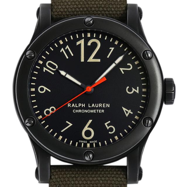 ラルフローレン サファリ RL67 クロノメーター RLR0220900 メンズ(07VWRALU0001)【中古】【腕時計】【送料無料】