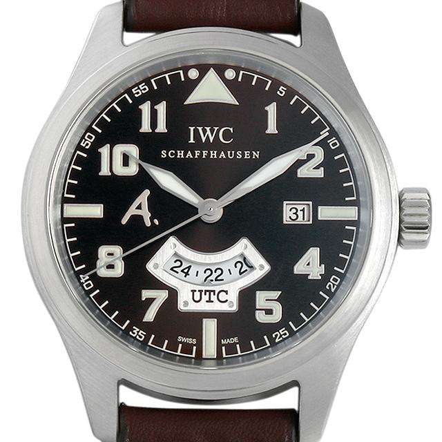 【48回払いまで無金利】IWC パイロットウォッチ アントワーヌ・ド サン-テグジュペリ IW326104 メンズ(08GOIWAU0001)【中古】【腕時計】【送料無料】