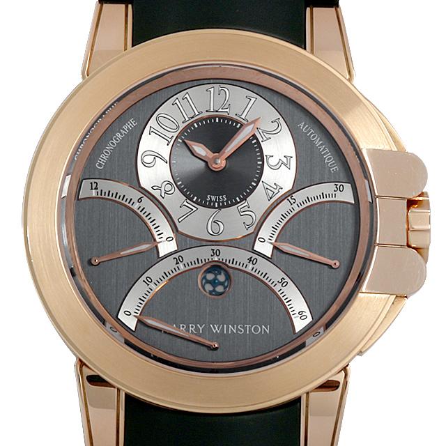 SALE ハリーウィンストン オーシャン トリプルレトログラード 400/MCRA44R メンズ(08MCHWAU0001)【中古】【腕時計】【送料無料】