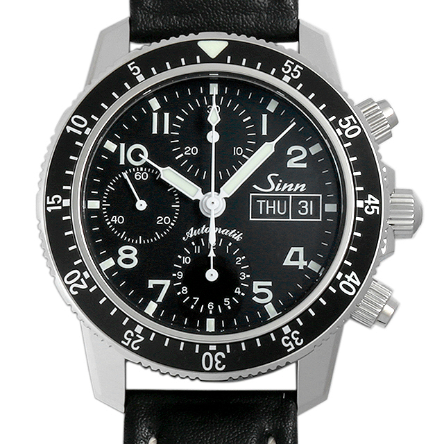 ジン 103.B.SA.AUTO カウレザーストラップ メンズ(006TSIAN0004)【新品】【腕時計】【送料無料】