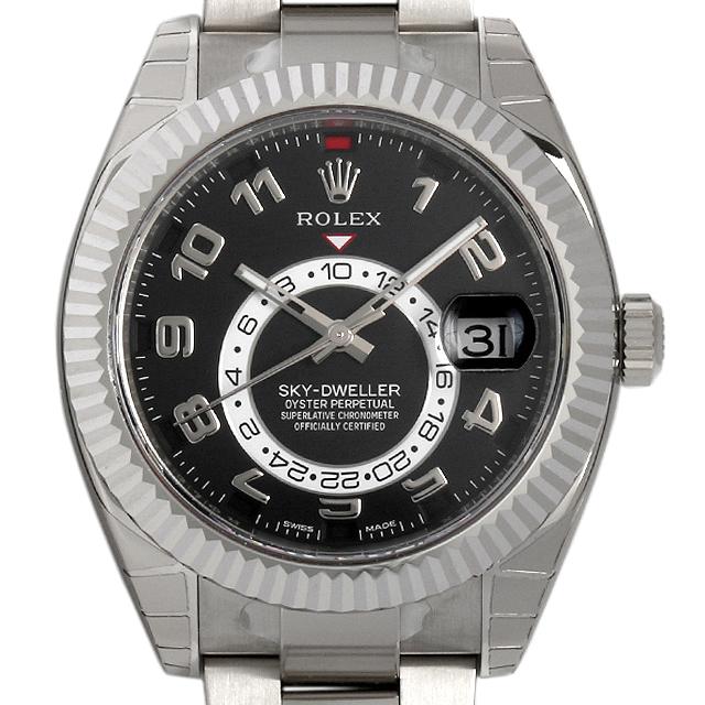 ロレックス スカイドゥエラー 326939 ブラック メンズ(006XROAN0054)【新品】【腕時計】【送料無料】