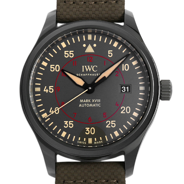 IWC パイロットウォッチ マーク18 トップガン・ミラマー IW324702 メンズ(002NIWAN0024)【新品】【腕時計】【送料無料】