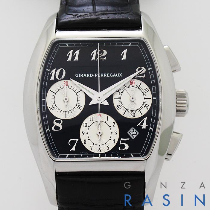 【48回払いまで無金利】ジラールペルゴ リシュビル クロノグラフ 27650-11-621-BAED メンズ【新品】【腕時計】【送料無料】