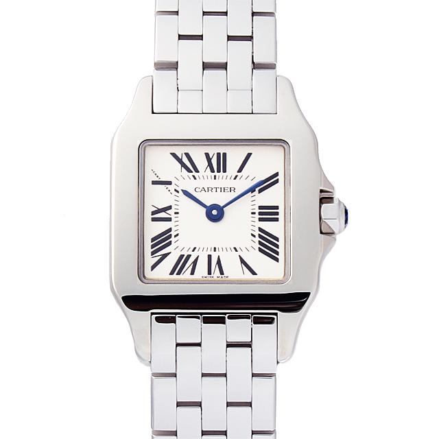 【48回払いまで無金利】カルティエ サントス ドゥモワゼル SM W25064Z5 レディース(0066CAAN0790)【新品】【腕時計】【送料無料】