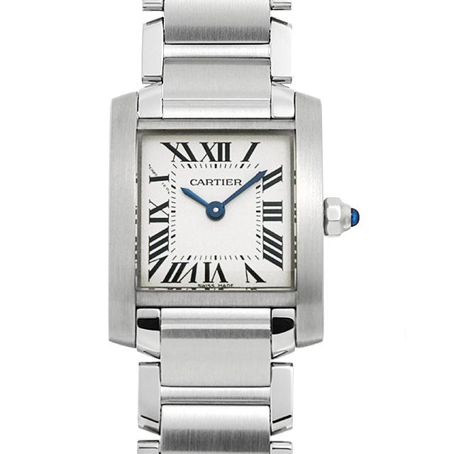 【48回払いまで無金利】カルティエ タンクフランセーズ SM W51008Q3 レディース(0066CAAN0784)【新品】【腕時計】【送料無料】
