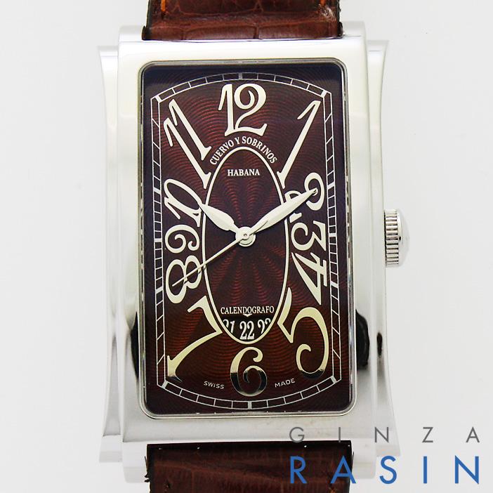 【48回払いまで無金利】クエルボ・イ・ソブリノス プロミネンテ 155A1012-1TG メンズ【新品】【腕時計】【送料無料】