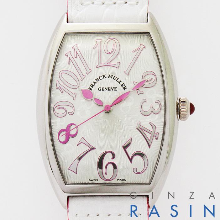 【48回払いまで無金利】フランクミュラー トノーカーベックス ピンクオーキッド 5850B SC AC レディース(N-FM5850BSCAC)【新品】【腕時計】【送料無料】