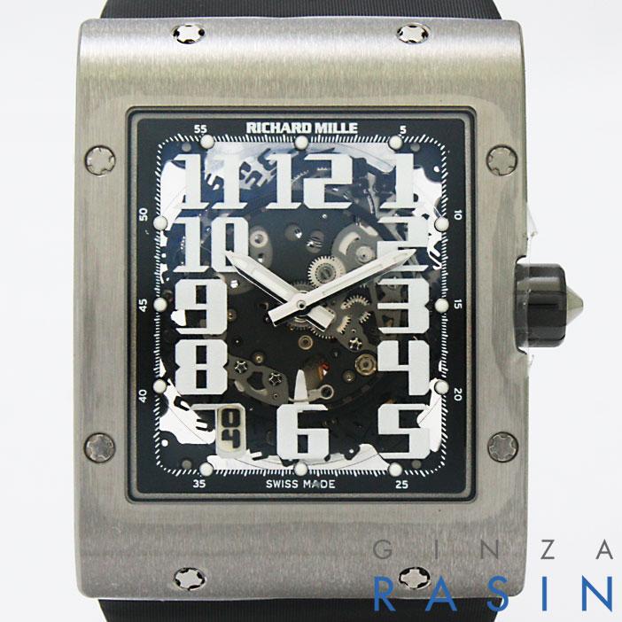 【48回払いまで無金利】リシャールミル オートマティック スケルトン RM016 メンズ【新品】【腕時計】【送料無料】