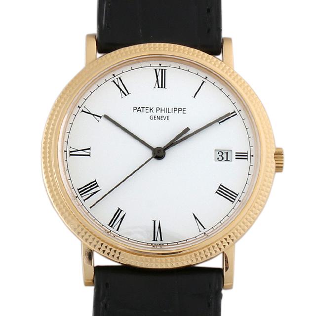 【48回払いまで無金利】パテックフィリップ カラトラバ 3944J メンズ(006XPPAU0057)【中古】【腕時計】【送料無料】