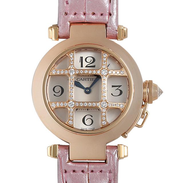 カルティエ パシャ32mm グリッドダイヤ WJ11963G レディース(008WCAAU0058)【中古】【腕時計】【送料無料】