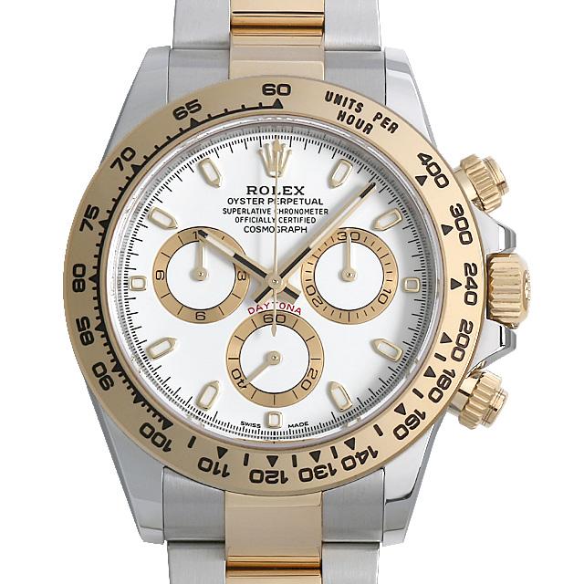 【48回払いまで無金利】ロレックス デイトナ 116503 ホワイト メンズ(0FPGROAN0001)【新品】【腕時計】【送料無料】