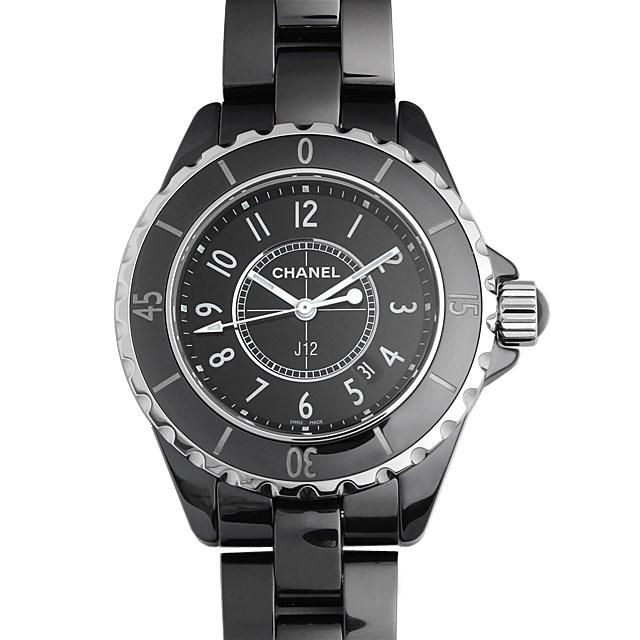 シャネル J12 黒セラミック H0682 レディース(0FHMCHAN0071)【新品】【腕時計】【送料無料】