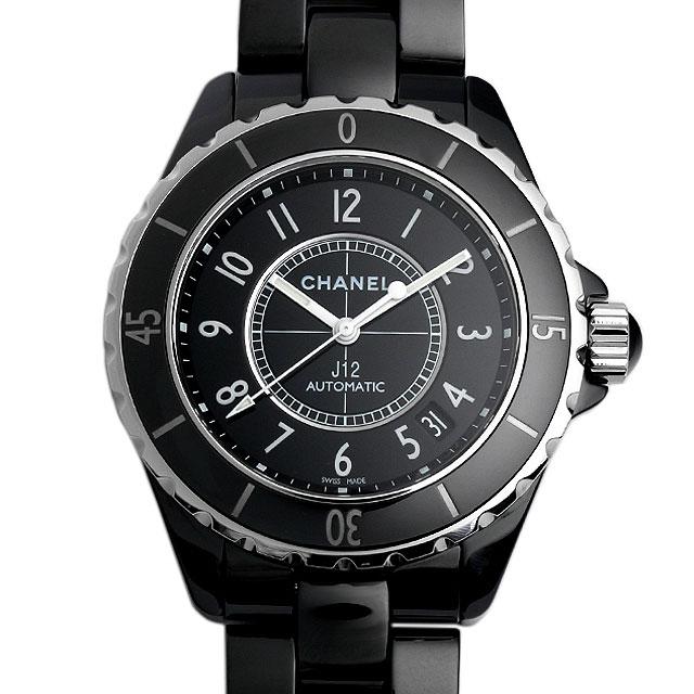 【48回払いまで無金利】シャネル J12 黒セラミック H0685 メンズ(015PCHAN0050)【新品】【腕時計】【送料無料】