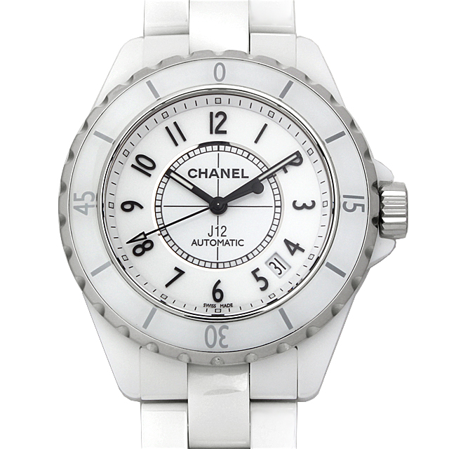 【48回払いまで無金利】シャネル J12 白セラミック H0970 メンズ(0671CHAN0332)【新品】【腕時計】【送料無料】